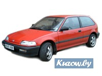 Детали кузова,оптика,радиаторы,HONDA CIVIC,1988 - 1991