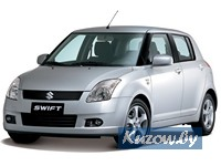 Детали кузова,оптика,радиаторы,SUZUKI SWIFT,2005 - 2010